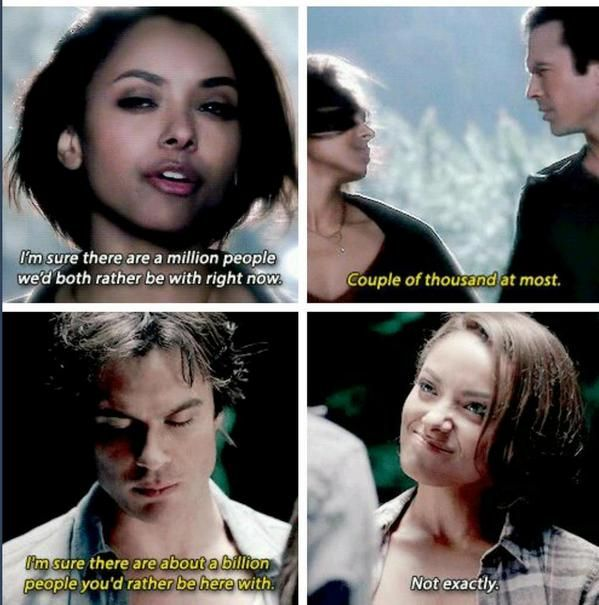TVD 6x05 Bonnie & Damon Their relationship is the cutest thing OMG I can't!