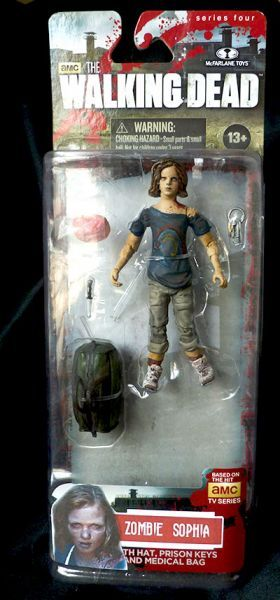 Zombie Sophia the Walking Dead Figure (Walking Dead) Custom Action Figure