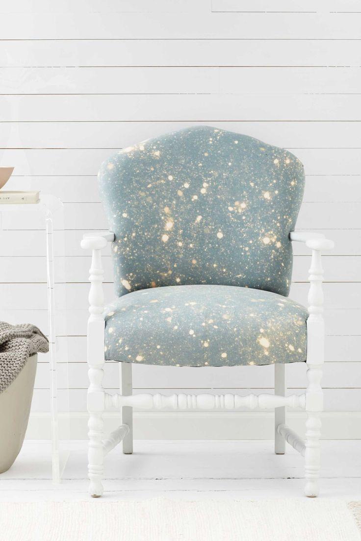 Bleach-Splattered Chair