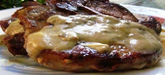 Een koolhydraatarm hoofdgerecht, karbonade met blauwe kaas jus. Bij dit recept maak je een heerlijke blauwe kaas jus die perfect past bij de karbonade.