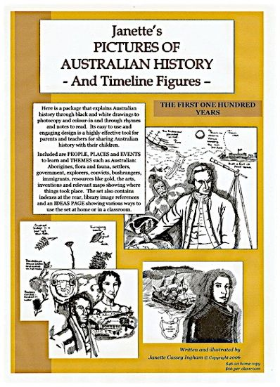 Our Australian History Book 1 - Pictures on CD to go with book