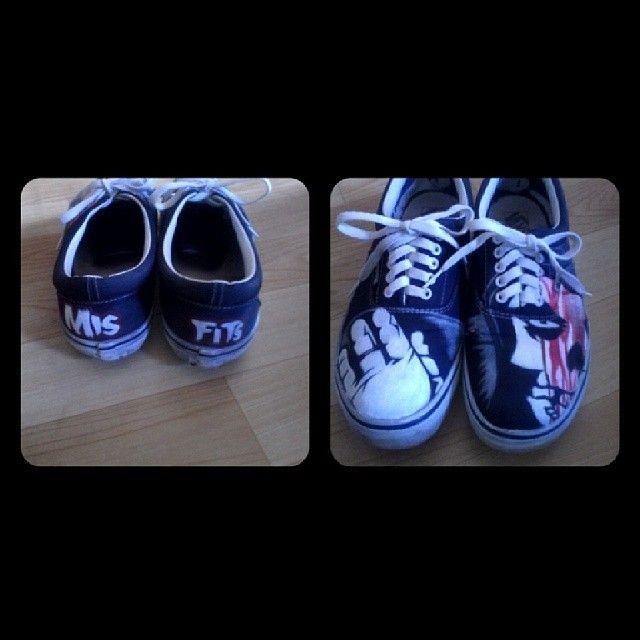 my shoes vans misfits