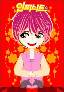GIF animation | Lunar Year INFINITE ver. | created by +Ratna Har (Little Lumut)