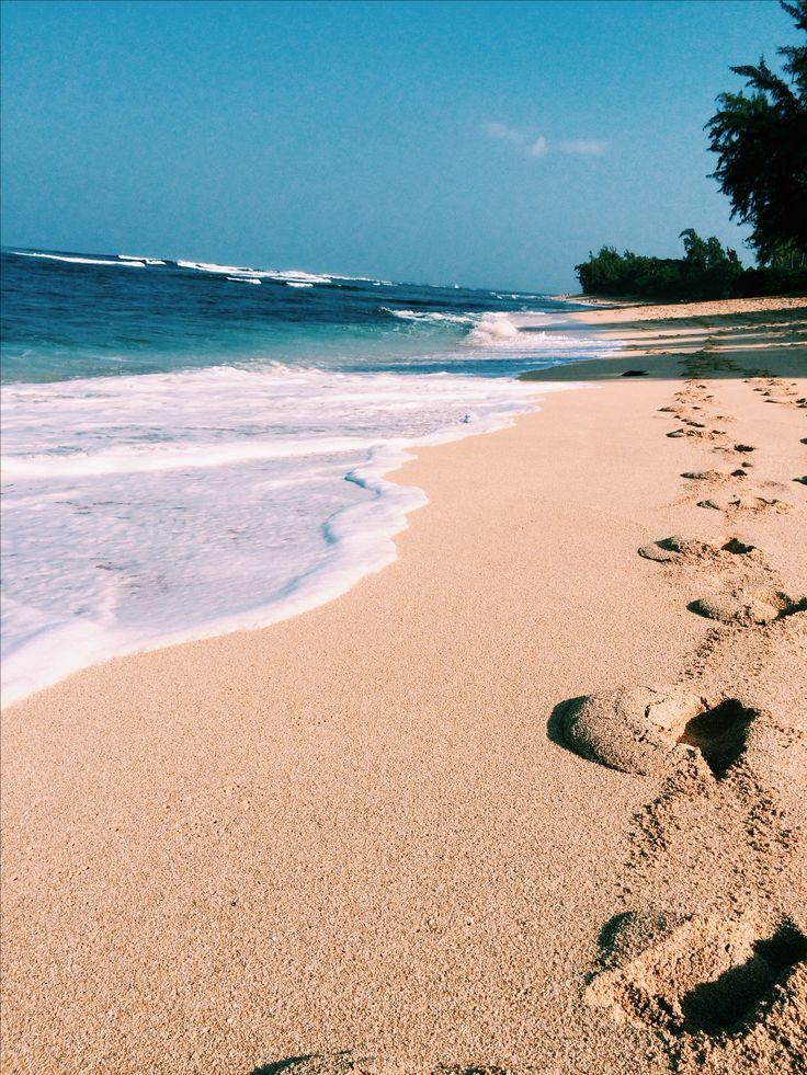 Sunset beach. Oahu, Hawaii.