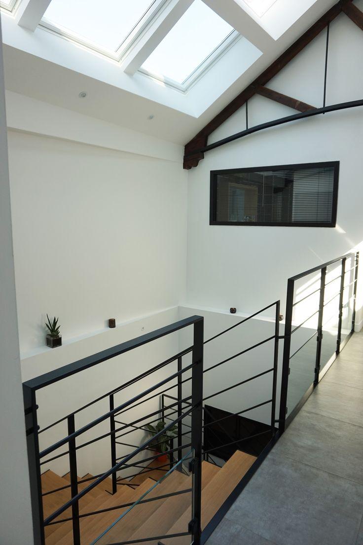 die besten 25 industrieller handlauf ideen auf pinterest treppe industrietreppen und. Black Bedroom Furniture Sets. Home Design Ideas