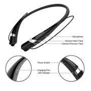 Bluetooth #Headphones COULAX CX04 Neckband Headphones Sweatproof #Earbuds-Built