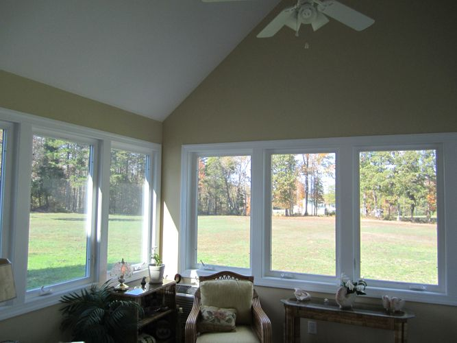 30 best sunroom images on pinterest home ideas for the for Large windows for sunroom