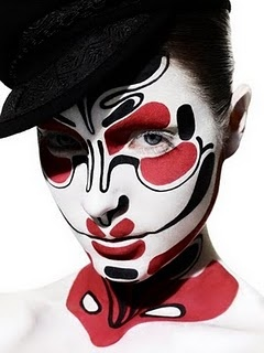 Clown Makeup - awesome costume!