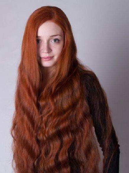 ... by Stephen Podhaski on Hair beautiful long hair Gorgeous , silky