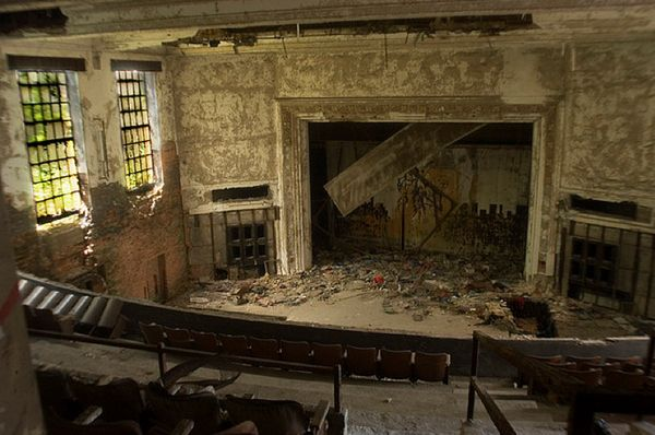 75 Abandoned Theatres.: Abandoned Theaters, Movie Theater, Abandoned Theatres, Gary Indiana, U S Theatres, 75 Abandoned, Photo, Awesome Theatres, Theatres Abandoned
