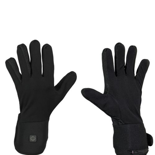 Battery Heated Glove Liners - City Collection  Make your existing gloves even better with heated liners. The stretchable poly-spandex fabric is slim enough to wear inside of mittens or gloves to provide you heat without taking away from your style  Use these under winter glov
