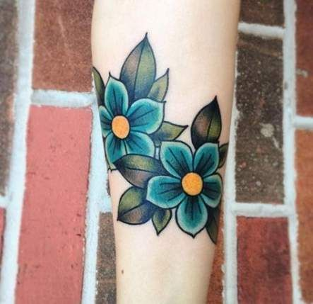 66 trendige Ideen Tattoo Old School traditionelle Stile Blume   – Tattoos