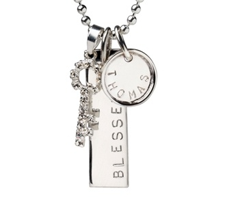 Hand stamped custom charms to represent your loved ones