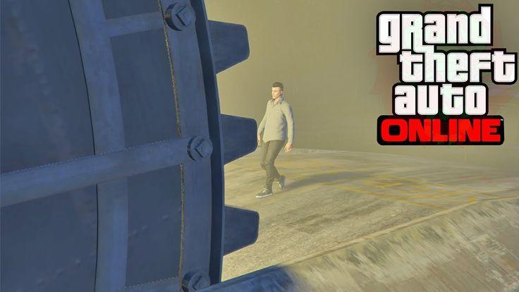 GTA 5 ONLİNE - YENİ GÜNCELLEME GUN RUNNİNG - GİZLİ SIĞINAK
