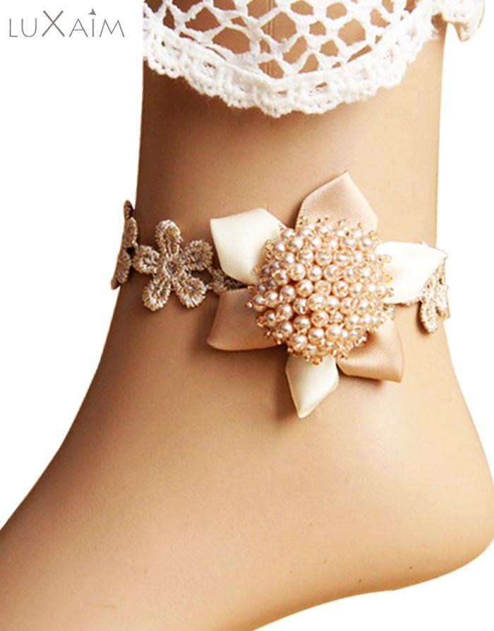 #Pearl #Anklet By @ReturnFavors.