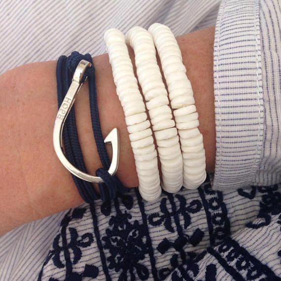 bracelet coquillage bijoux de plage bracelet sirène