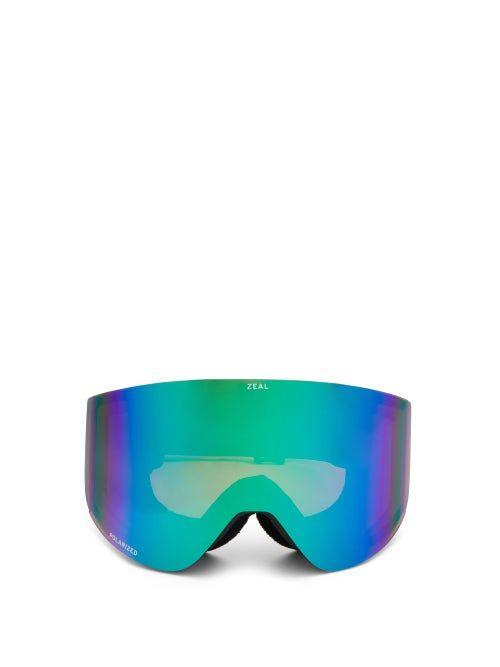 Hatchet Optimum Polarised Cylindrical Goggles Zeal Optics In 2021 Hatchet Goggles Optical