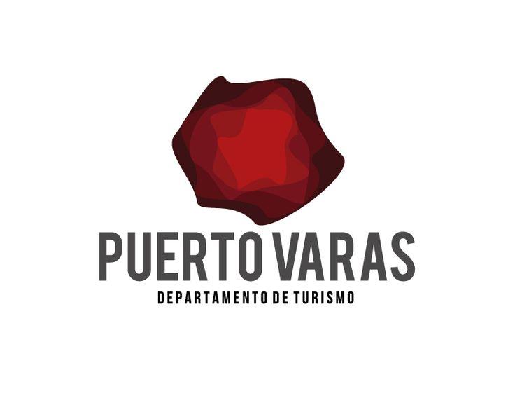Propuesta imagotipo para 'Departamento de turismo, Puerto Varas' en Diseño Corporativo.