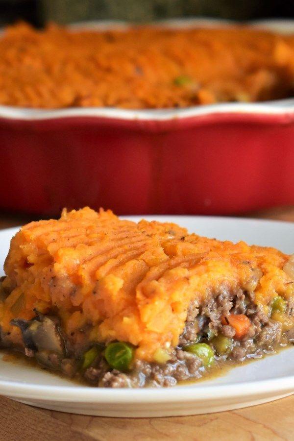 Sweet Potato And Venison Shepherd S Pie Recipe Venison Recipes Venison Recipes