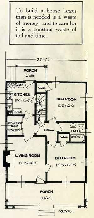 Convenient house plans