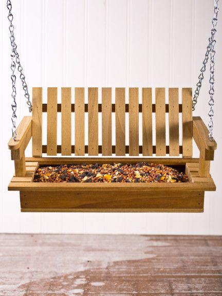 Porch Swing Bird Feeder | Display In Style | Bourbon & Boots