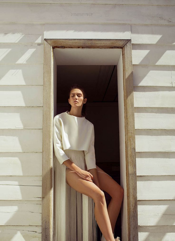 Caitlin Lomax by Astrid Salomon in Pale Days for Fashion Gone Rogue   Fashion Gone Rogue: The Latest in Editorials and Campaigns