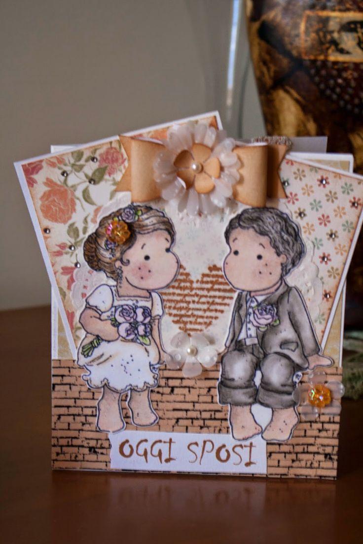 Amiche di Scrap: sfida Card #9 - Anna