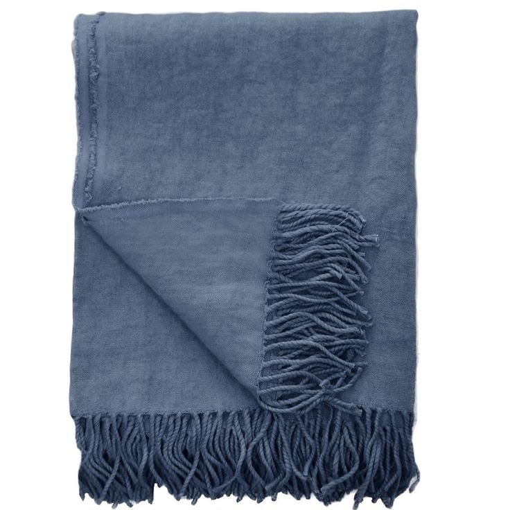 Sienna Marine Throw | Designers Guild
