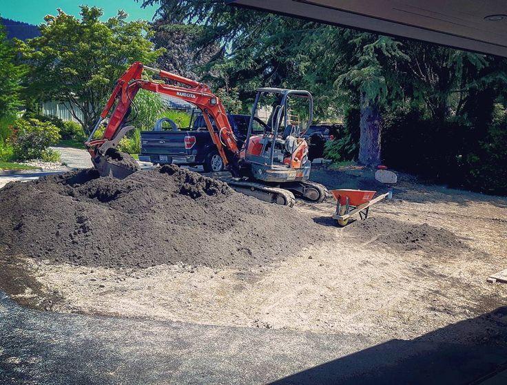 Get the job done #construction #machine #kubota #excavator #terraform #Kubotalove #goorange
