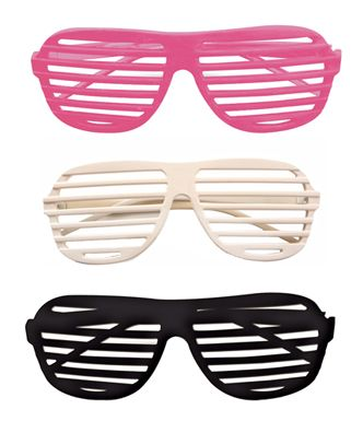 Kanye West Style Glasses - 80's Slot Glasses  Put on these Slot Kanye West Neon Pink Glasses for Costume and gain plenty of positive attention. When you wear the 80's Slot Kanye West Neon Pink Glasses, you'll be the most original out of all those other Kanye wannabes.  #glasses #costumes #nationalsunglassesday