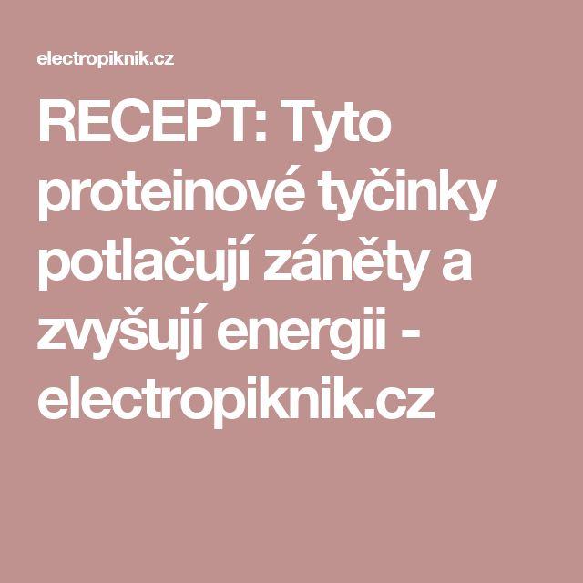 RECEPT: Tyto proteinové tyčinky potlačují záněty a zvyšují energii - electropiknik.cz