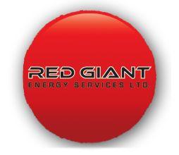 Red Giant Energy Services Ltd. logo design