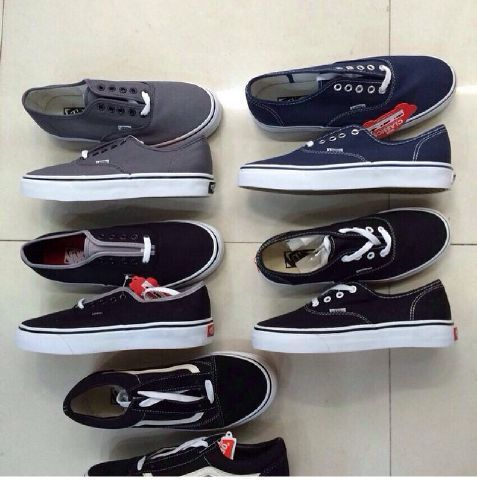 vans authentic classic size 5-10 ,280k  for ask or order PIN : 25C134A4 Whatsapp/sms : 082118845596