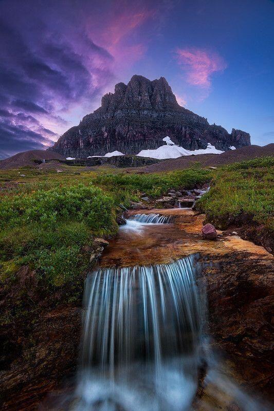 Parque Nacional das Geleiras, Montana, USA.