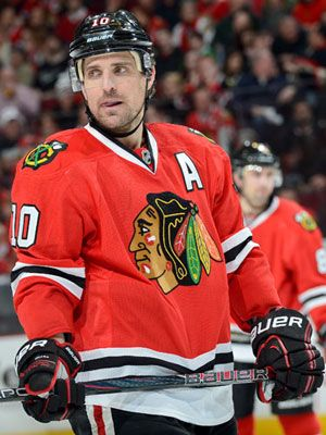 Patrick Sharp, Chicago Blackhawks.... 18 of the hottest 2013 NHL players in the playoffs :) (sad there are no Wings tho)