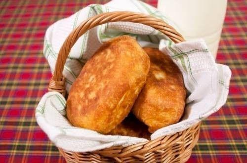 Жареные пирожки с капустой - рецепт с фото / Простые рецепты
