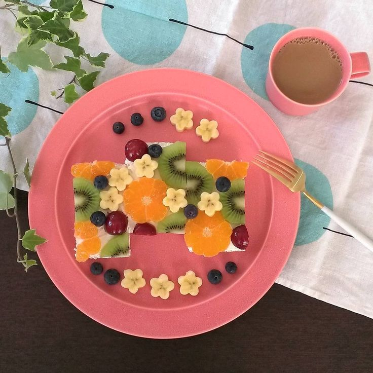 朝食に最適!フルーツオープンサンドのアイデアレシピ♩ - macaroni