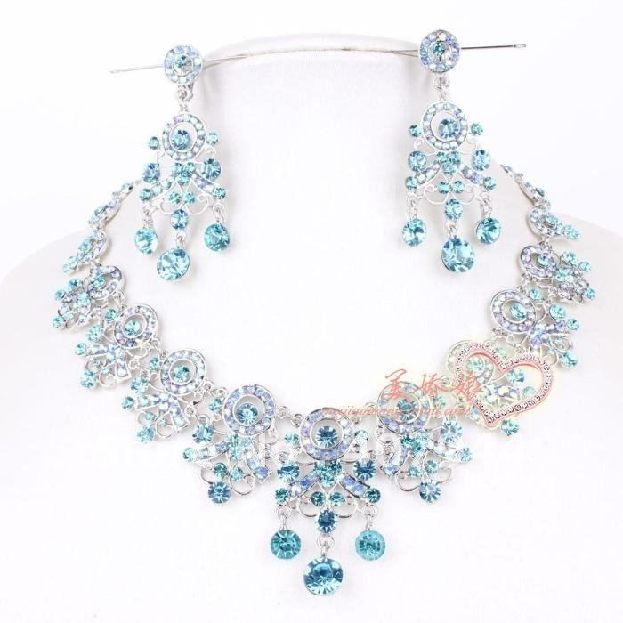 13 best Blue for a Bride images on Pinterest Bridal necklace
