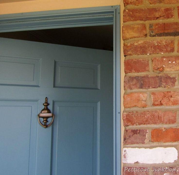 Paint metal storm door to match entry door how to paint my house and storm doors for How to paint metal exterior door