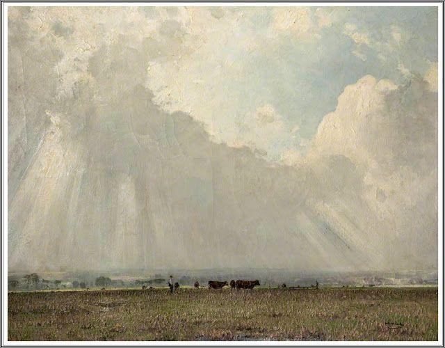 William Page Atkinson Wells (1872-1923), Beneath the Haldon Hills, Devon.