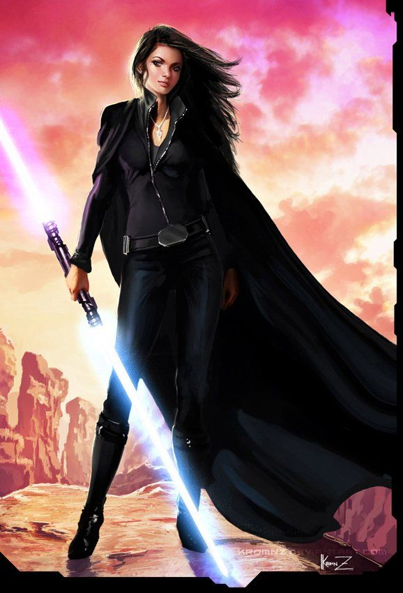 Female Sith Picture by Aldomartinezc  digital-art-gallery.com ... Minus the lightsaber, she reminds me of Kara Jolie