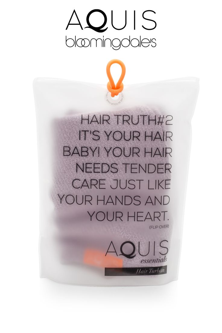 The Aquis Hair Turban - now available at Bloomingdale's.