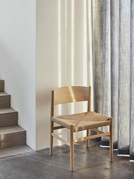 Chaise Nestor En Bois Massif Tom Stepp