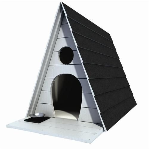 """36"""" x 44"""" Dog House Plans Gable Roof Pet Size Up to 150 lbs Large Dog 04   eBay"""