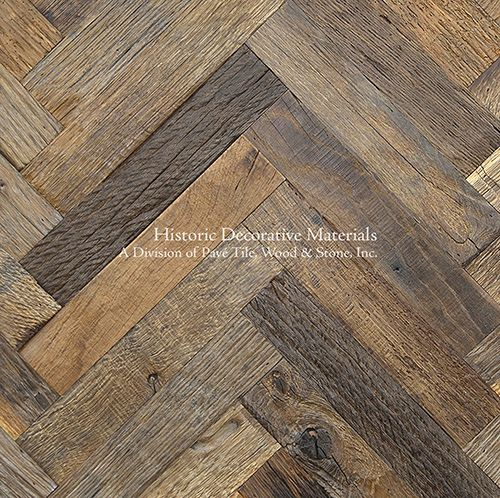 Reclaimed European Oak Engineered Planks and Parquet Flooring