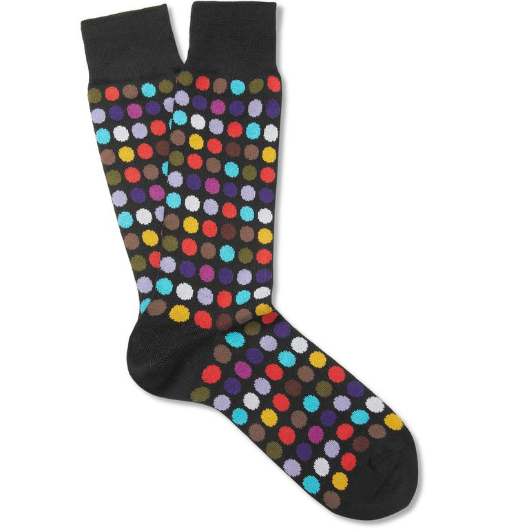 Sale Release Dates Cheap Sale Nicekicks Mens Pin Dot Cotton-Blend Mid-Calf Socks Paul Smith Ebay Online Cheap Latest Collections Buy Cheap Hot Sale PbTok