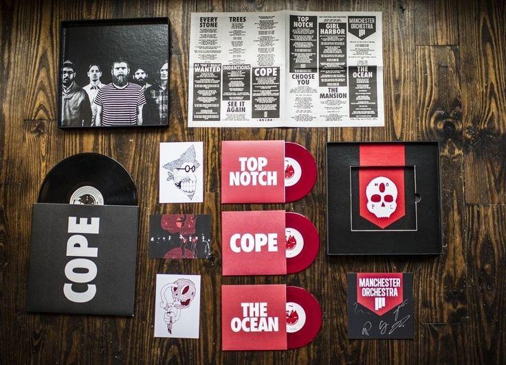 "The Manchester Orchestra - Cope - Vinyl LP Box Set + 7""s"