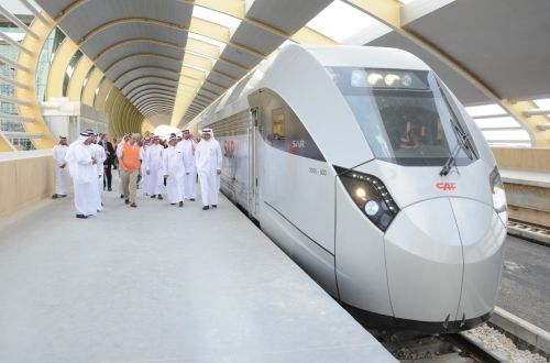 CAF presents first passenger train to Saudi Railway Company