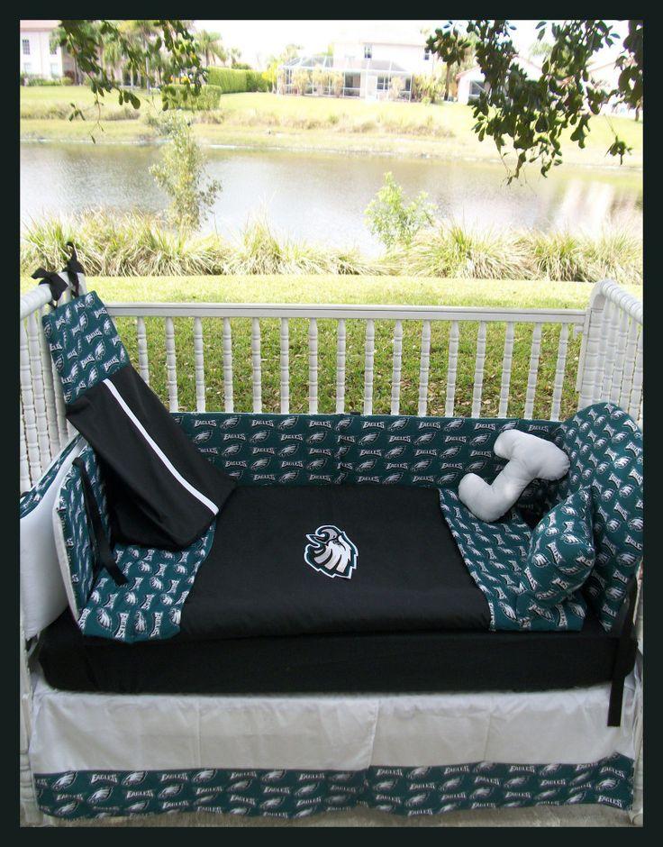 PHILADELPHIA EAGLES Crib Bedding Set I Want It