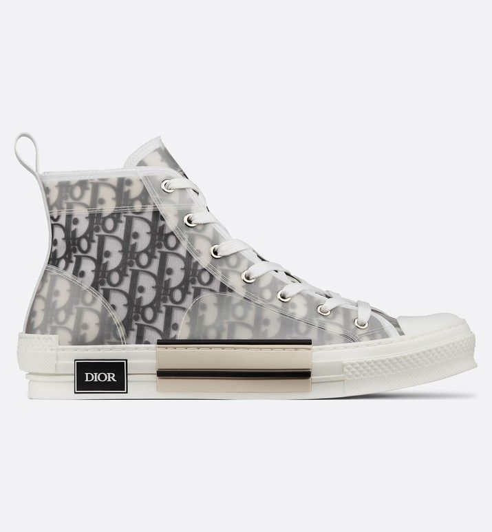 4e57f9bb B23 High-Top Sneakers in Dior Oblique | when i have $$$ in 2019 ...